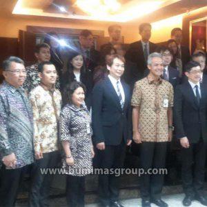 Investor Singapura Dengan Gubernur Jawa Tengah, Bp. Ganjar Pranowo P3