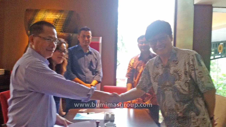 MOU With PT CJ Chiljedang Feed Semarang