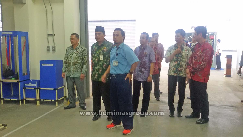 Peresmian Pabrik PT SAMI JF Dengan Bupati Jepara